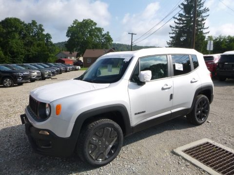 Glacier Metallic Jeep Renegade Latitude 4x4.  Click to enlarge.