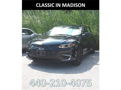 Mosaic Black Metallic Chevrolet Malibu LT.  Click to enlarge.