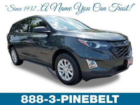 Nightfall Gray metallic Chevrolet Equinox LS.  Click to enlarge.