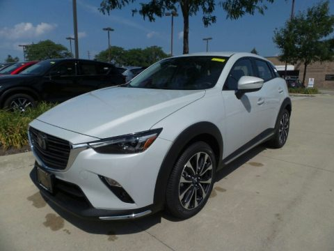Ceramic Metallic Mazda CX-3 Grand Touring AWD.  Click to enlarge.
