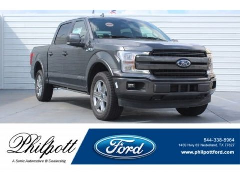 Magnetic Ford F150 Lariat SuperCrew 4x4.  Click to enlarge.