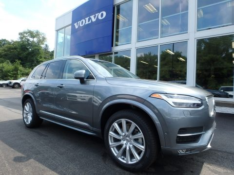 Osmium Grey Metallic Volvo XC90 T6 AWD Inscription.  Click to enlarge.