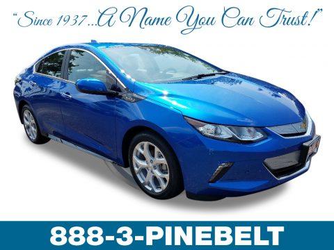 Kinetic Blue Metallic Chevrolet Volt Premier.  Click to enlarge.