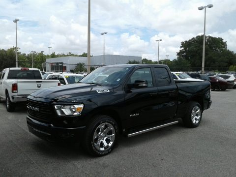 Diamond Black Crystal Pearl Ram 1500 Big Horn Quad Cab.  Click to enlarge.