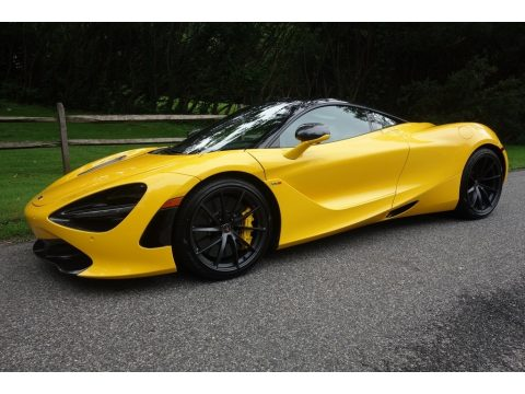 Volcano Yellow McLaren 720S Performance.  Click to enlarge.