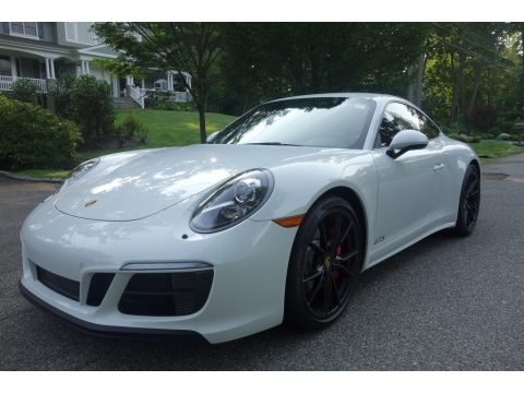 Carrara White Metallic Porsche 911 Carrera 4 GTS Coupe.  Click to enlarge.