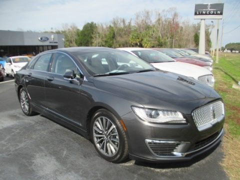 Magnetic Gray Metallic Lincoln MKZ Select AWD.  Click to enlarge.