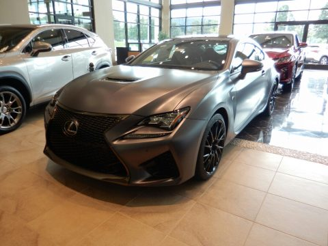Matte Nebula Gray Pearl Lexus RC F 10th Anniversary Special Edition.  Click to enlarge.