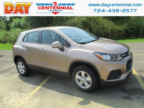 Sandy Ridge Metallic Chevrolet Trax LS AWD.  Click to enlarge.