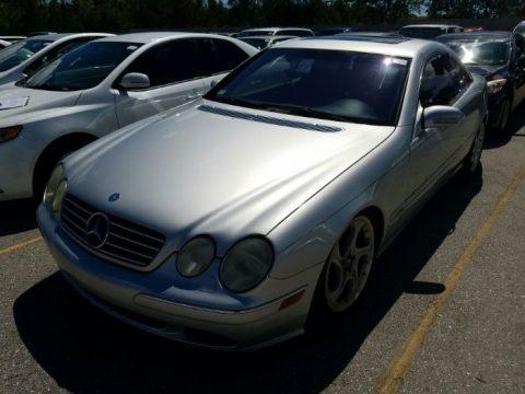 Brilliant Silver Metallic Mercedes-Benz CL 600.  Click to enlarge.