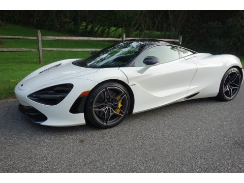White McLaren 720S Performance.  Click to enlarge.