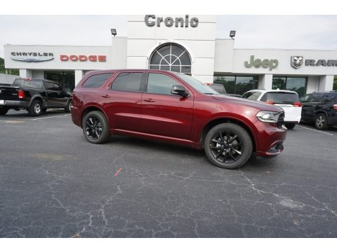 Octane Red Pearl Dodge Durango GT.  Click to enlarge.