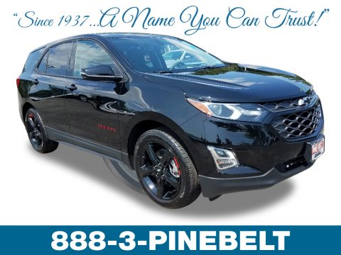 Mosaic Black Metallic Chevrolet Equinox LT.  Click to enlarge.