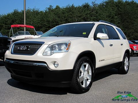 White Diamond Metallic GMC Acadia SLT.  Click to enlarge.