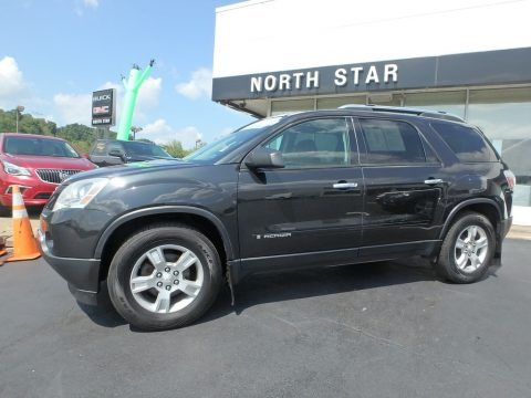 Carbon Black Metallic GMC Acadia SLE AWD.  Click to enlarge.