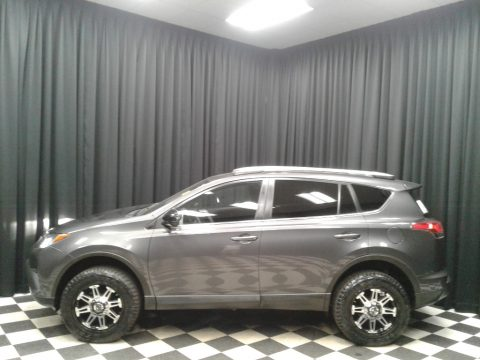 Magnetic Gray Metallic Toyota RAV4 LE AWD.  Click to enlarge.