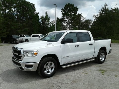 Bright White Ram 1500 Tradesman Crew Cab.  Click to enlarge.