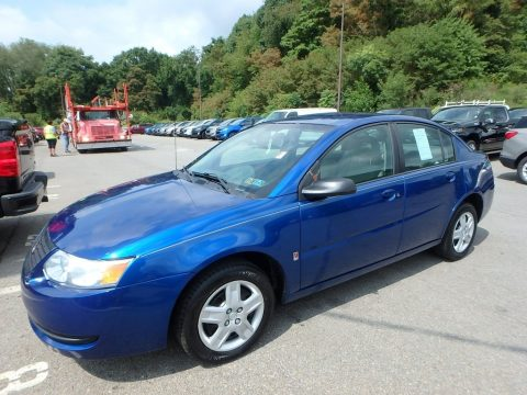 Pacific Blue Saturn ION 2 Sedan.  Click to enlarge.