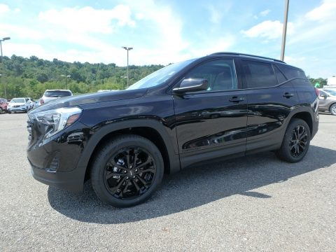 Ebony Twilight Metallic GMC Terrain SLE AWD.  Click to enlarge.