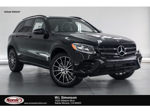 Black Mercedes-Benz GLC 300.  Click to enlarge.