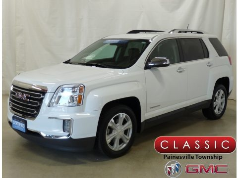 Summit White GMC Terrain SLT AWD.  Click to enlarge.