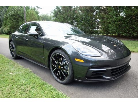 Agate Grey Metallic Porsche Panamera 4S.  Click to enlarge.