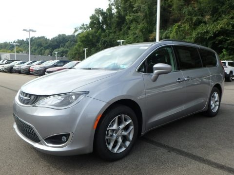 Billet Silver Metallic Chrysler Pacifica Touring Plus.  Click to enlarge.