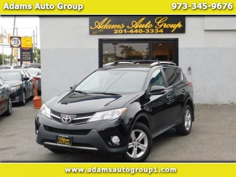 Black Toyota RAV4 XLE AWD.  Click to enlarge.