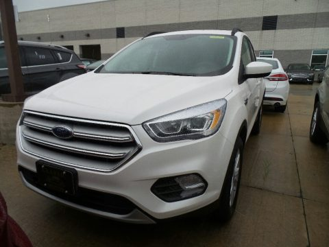 White Platinum Ford Escape SEL 4WD.  Click to enlarge.