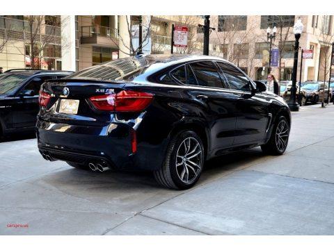 Carbon Black Metallic BMW X6 M .  Click to enlarge.