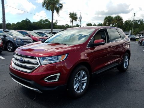 Ruby Red Ford Edge SEL.  Click to enlarge.