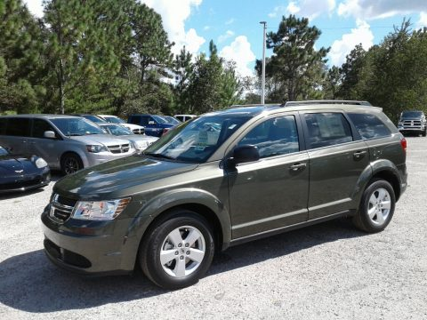 Olive Green Dodge Journey SE.  Click to enlarge.
