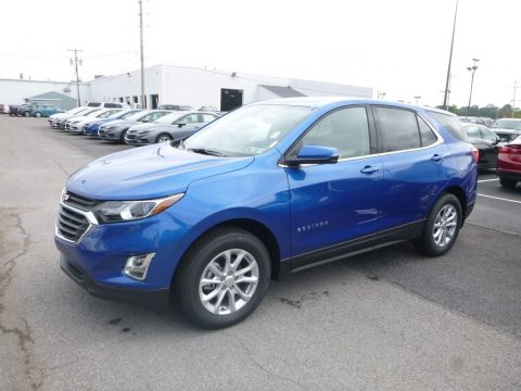 Kinetic Blue Metallic Chevrolet Equinox LT AWD.  Click to enlarge.