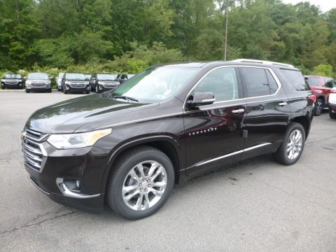 Havana Brown Metallic Chevrolet Traverse High Country AWD.  Click to enlarge.