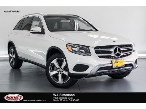 Polar White Mercedes-Benz GLC 300.  Click to enlarge.