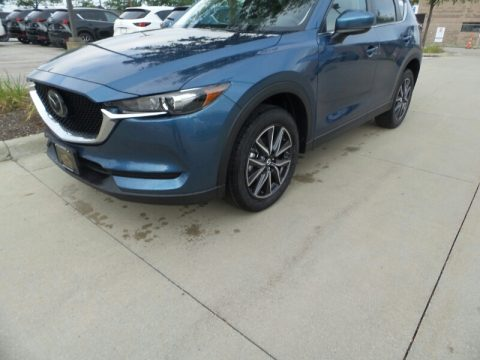 Eternal Blue Metallic Mazda CX-5 Touring AWD.  Click to enlarge.
