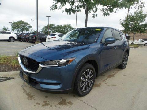 Eternal Blue Metallic Mazda CX-5 Touring AWD.  Click to enlarge.