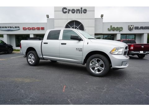 Bright Silver Metallic Ram 1500 Classic Express Crew Cab 4x4.  Click to enlarge.