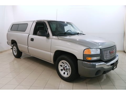 Silver Birch Metallic GMC Sierra 1500 Regular Cab.  Click to enlarge.