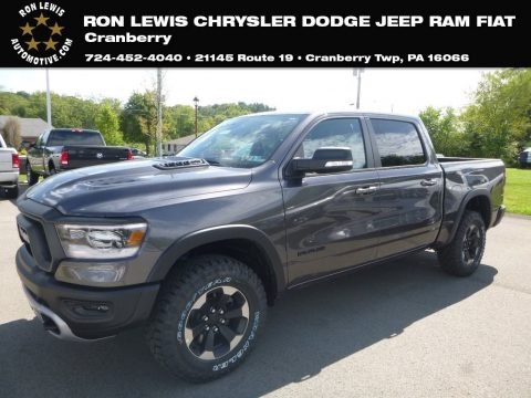 Granite Crystal Metallic Ram 1500 Rebel Crew Cab 4x4.  Click to enlarge.