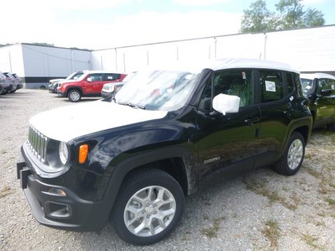 Black Jeep Renegade Latitude 4x4.  Click to enlarge.