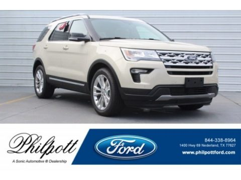 Platinum Dune Ford Explorer XLT.  Click to enlarge.