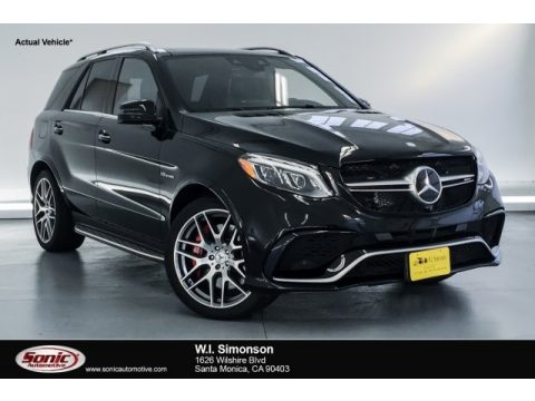Black Mercedes-Benz GLE 63 S AMG 4Matic.  Click to enlarge.