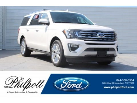 White Platinum Ford Expedition Limited Max.  Click to enlarge.