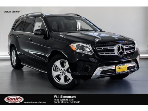 Black Mercedes-Benz GLS 450 4Matic.  Click to enlarge.