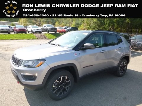 Billet Silver Metallic Jeep Compass Trailhawk 4x4.  Click to enlarge.
