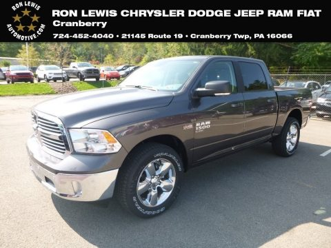 Granite Crystal Metallic Ram 1500 Classic Big Horn Crew Cab 4x4.  Click to enlarge.