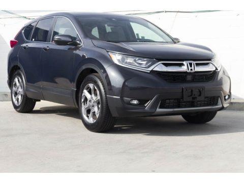 Gunmetal Metallic Honda CR-V EX-L.  Click to enlarge.