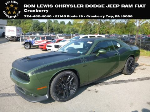 F8 Green Dodge Challenger T/A 392.  Click to enlarge.