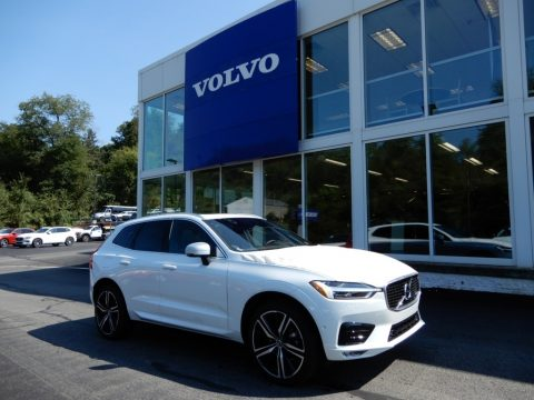 Crystal White Metallic Volvo XC60 T5 AWD R-Design.  Click to enlarge.